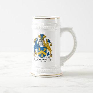 Escudo de la familia de O'Conran Tazas De Café