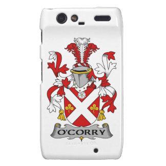 Escudo de la familia de O'Corry Droid RAZR Funda