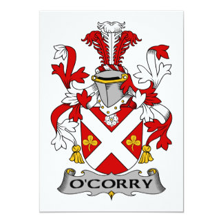 Escudo de la familia de O'Corry Anuncios