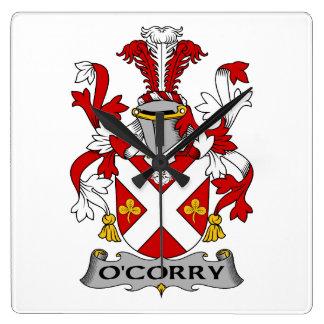 Escudo de la familia de O'Corry Reloj
