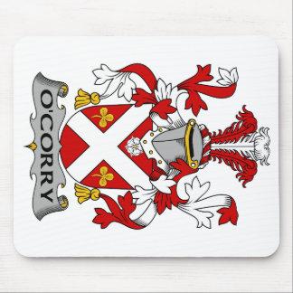 Escudo de la familia de O'Corry Tapete De Raton