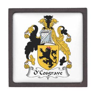 Escudo de la familia de O'Cosgrave Cajas De Regalo De Calidad
