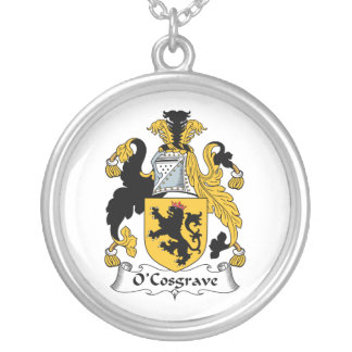 Escudo de la familia de O'Cosgrave Colgante Redondo