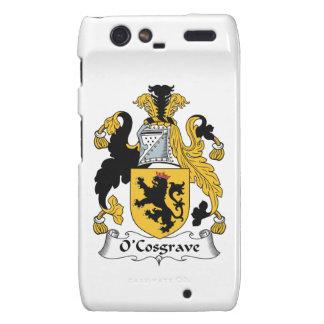 Escudo de la familia de O'Cosgrave Droid RAZR Carcasas
