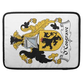 Escudo de la familia de O'Cosgrave Funda Macbook Pro
