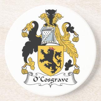 Escudo de la familia de O'Cosgrave Posavasos Diseño