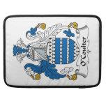 Escudo de la familia de O'Coulter Fundas Macbook Pro