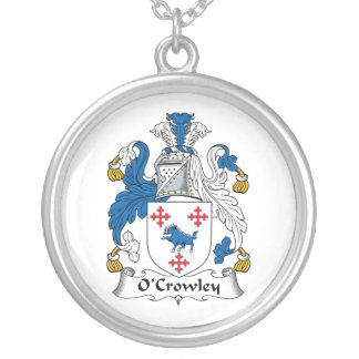 Escudo de la familia de O'Crowley Collar