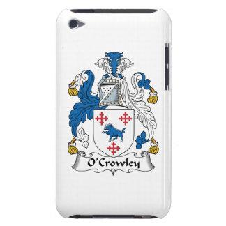 Escudo de la familia de O'Crowley iPod Touch Case-Mate Carcasa