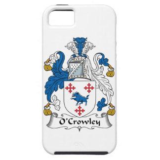 Escudo de la familia de O'Crowley iPhone 5 Cobertura