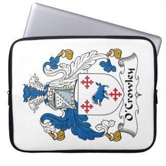 Escudo de la familia de O'Crowley Fundas Computadoras