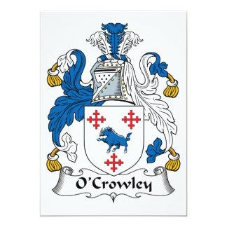 Escudo de la familia de O'Crowley Anuncio Personalizado
