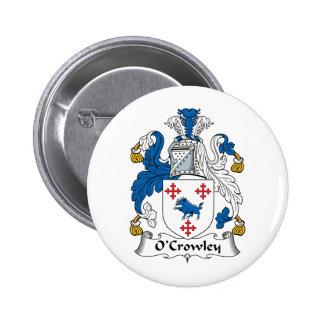 Escudo de la familia de O'Crowley Pins