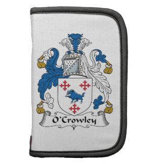 Escudo de la familia de O'Crowley Planificador
