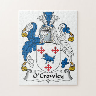 Escudo de la familia de O'Crowley Puzzles