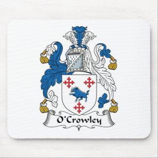 Escudo de la familia de O'Crowley Alfombrilla De Raton