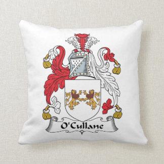 Escudo de la familia de O'Cullane Cojin