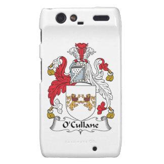 Escudo de la familia de O'Cullane Droid RAZR Fundas