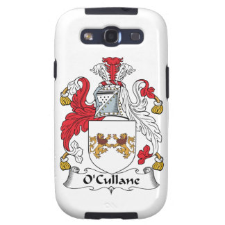 Escudo de la familia de O'Cullane Samsung Galaxy S3 Carcasas