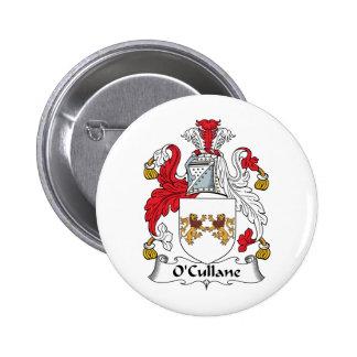 Escudo de la familia de O'Cullane Pin
