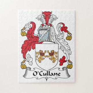 Escudo de la familia de O'Cullane Puzzles