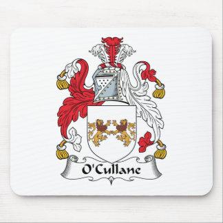 Escudo de la familia de O'Cullane Tapete De Ratones