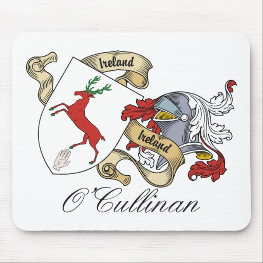 Escudo de la familia de O'Cullinan Tapete De Ratones