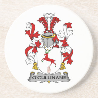 Escudo de la familia de O'Cullinane Posavasos Diseño