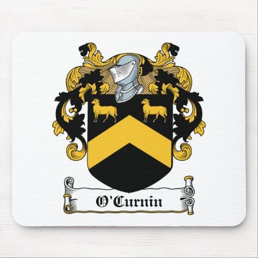 Escudo de la familia de O'Curnin Tapete De Ratón