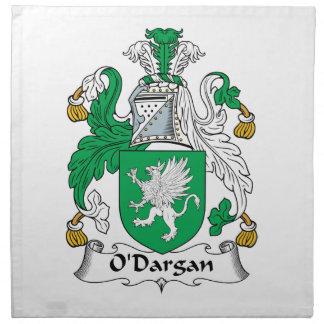 Escudo de la familia de O'Dargan Servilletas