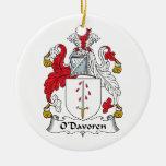 Escudo de la familia de O'Davoren Ornamento De Reyes Magos