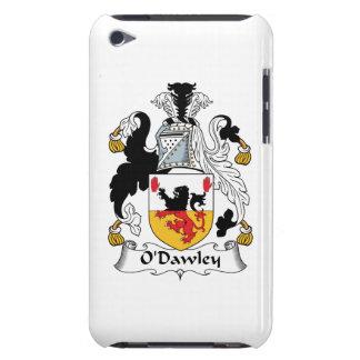 Escudo de la familia de O'Dawley Barely There iPod Coberturas