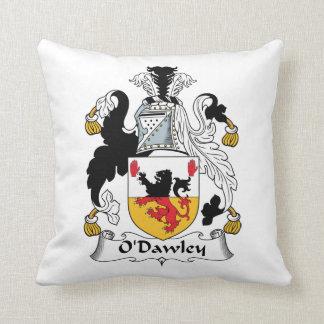 Escudo de la familia de O'Dawley Cojín