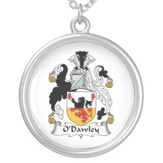 Escudo de la familia de O'Dawley Colgante Redondo