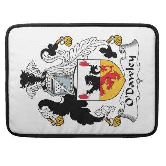 Escudo de la familia de O'Dawley Fundas Para Macbooks