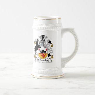 Escudo de la familia de O'Dawley Jarra De Cerveza