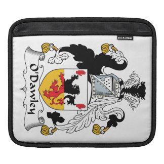 Escudo de la familia de O'Dawley Mangas De iPad