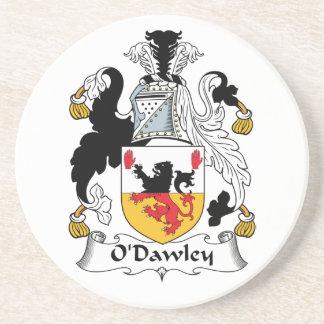 Escudo de la familia de O'Dawley Posavasos Diseño