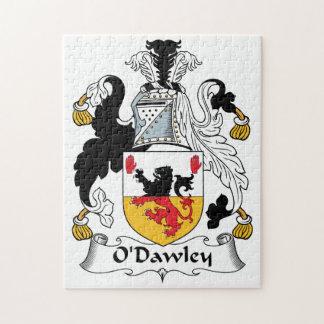 Escudo de la familia de O'Dawley Puzzles Con Fotos