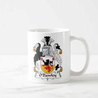 Escudo de la familia de O'Dawley Taza