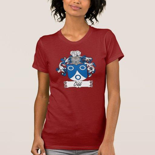 Escudo de la familia de Oddi Camiseta