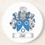 Escudo de la familia de Oddi Posavasos Personalizados