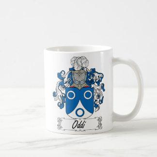 Escudo de la familia de Oddi Taza Clásica