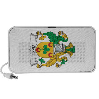 Escudo de la familia de Odell iPod Altavoces