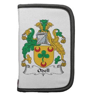 Escudo de la familia de Odell Planificador