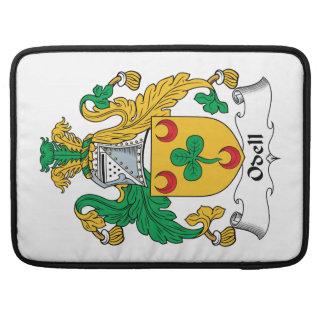 Escudo de la familia de Odell Funda Para Macbooks