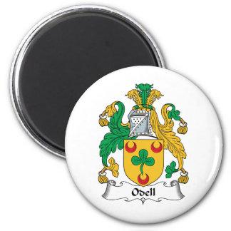 Escudo de la familia de Odell Iman Para Frigorífico