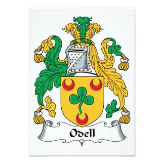 Escudo de la familia de Odell Invitación Personalizada