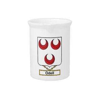 Escudo de la familia de Odell Jarras De Beber
