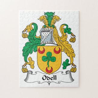 Escudo de la familia de Odell Rompecabeza